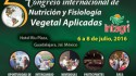 Tradecorp sponsors the 5th International Congress of Applied Nutrition and Plant Physiology