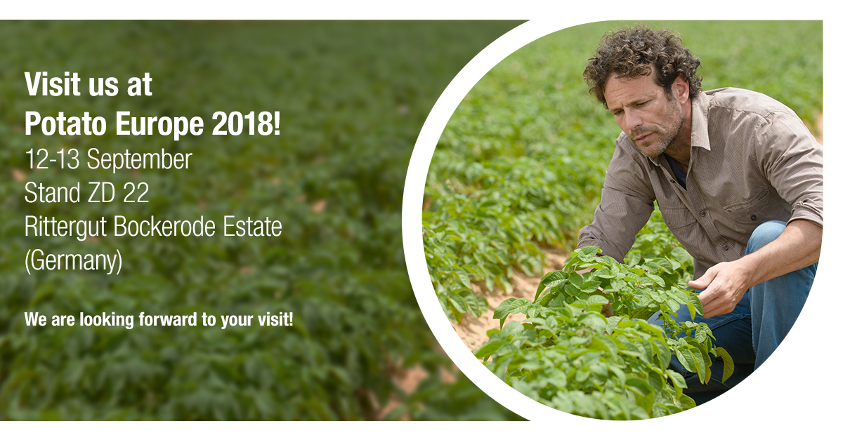Visit us at Potato Europe 2018