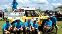 Tradecorp sponsors car 25 at the Rhino Charge, the fundraising event for the conservation of Kenya's Aberdare Ecosystem
