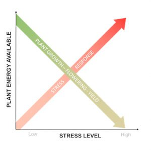 Stress level and available plant energy