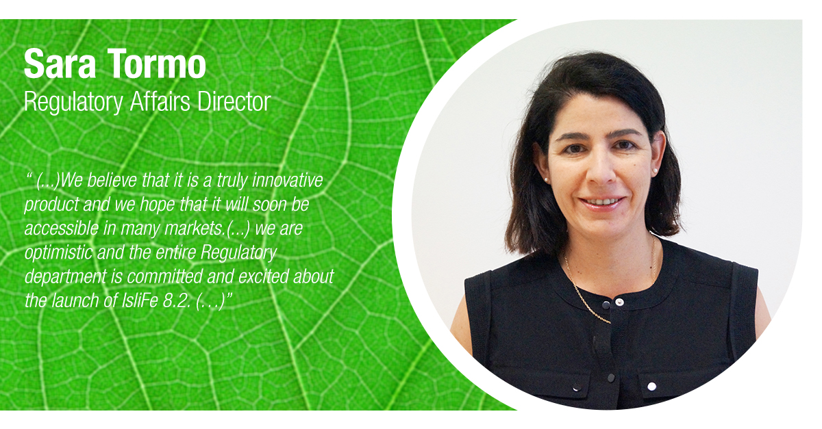 Sara Tormo Regulatory director at Tradecorp
