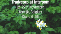 Visit Tradecorp at Interpom 2018 in Belgium
