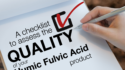 Are you using a top quality Humic Fulvic Acid product? This is our checklist to find it out!